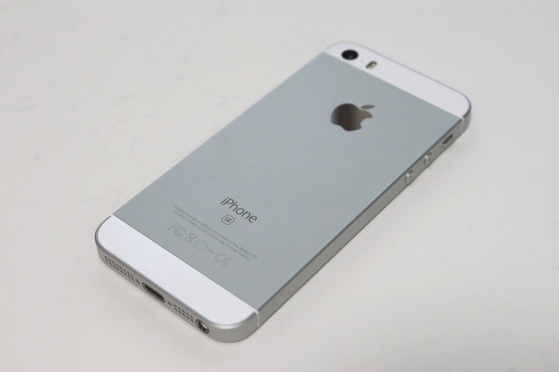 iPhone SE 背面デザイン