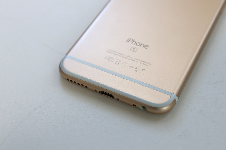 iPhone 6s アンテナライン