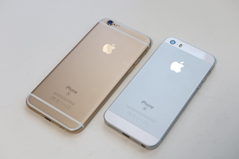 iPhone 6sとiPhone SE 外観デザイン比較