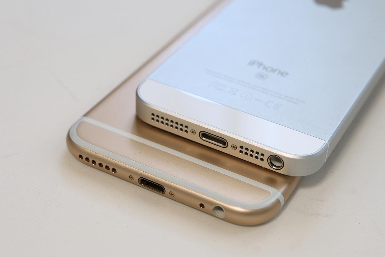 iPhone SEとiPhone 6s ヘッドフォンジャック