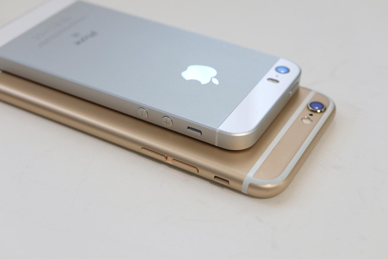 iPhone SEとiPhone 6s 本体デザイン比較