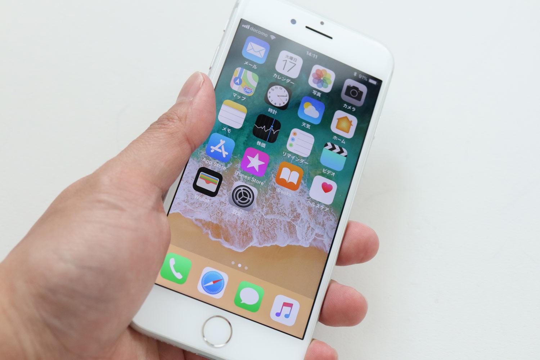 iPhone 7 手で持った感触