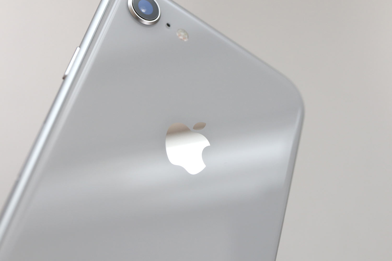 iPhone 8 光の加減