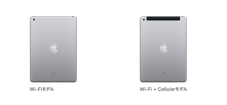 iPad アンテナラインのデザイン