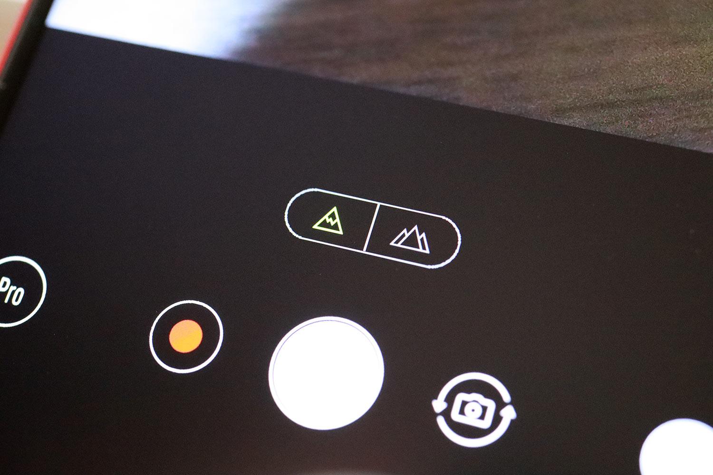 Zenfone 5Q 広角カメラ切り替え