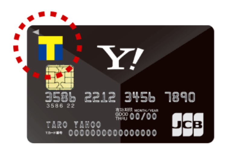 Tカード一体型ヤフーカード